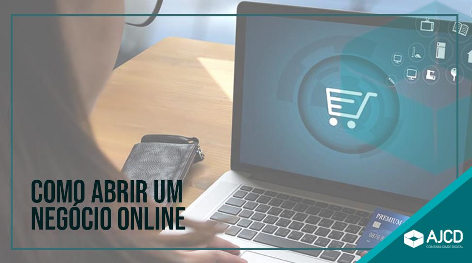 Como abrir um negócio online